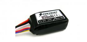 PowerSky LiPo 11.1V 850mAh 3S 35C