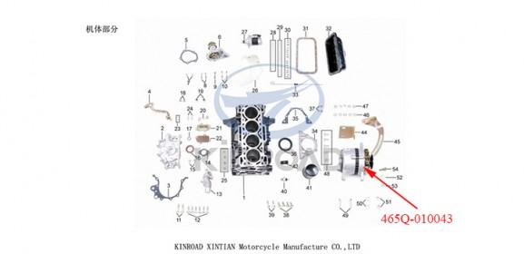 Generators kinroad 800cc 1100cc