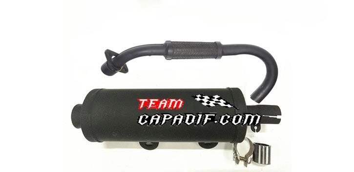 Kinroad 250 cc exhaust silencer