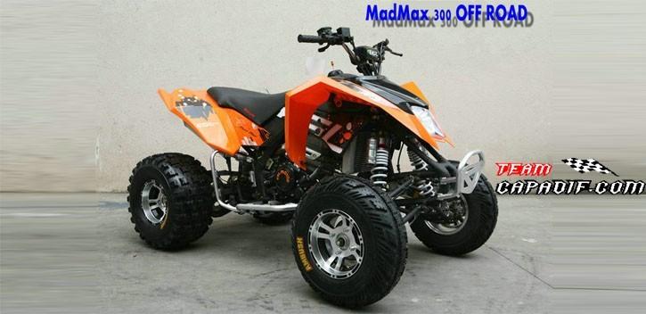 EGL Motor Quad 300CC MAD MAX RX3.0T
