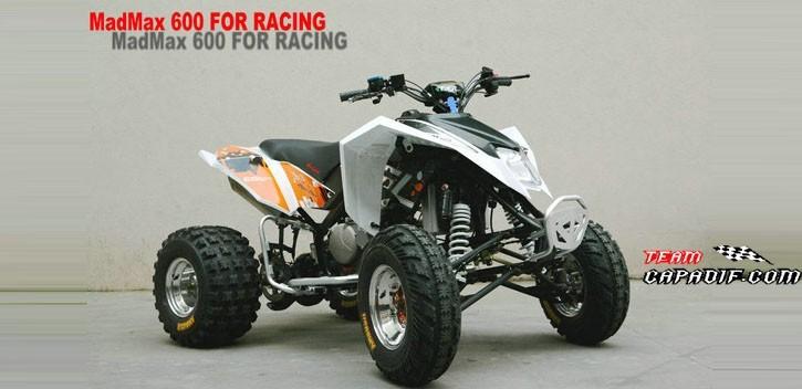 EGL Motor Quad 600CC MAD MAX RX6.0T