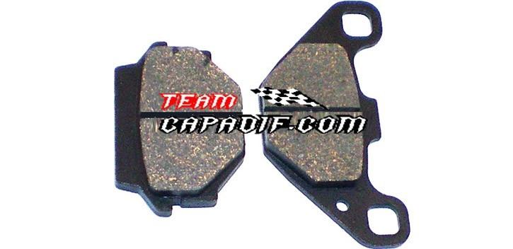 SHINERAY 250 STXE rear brake pad