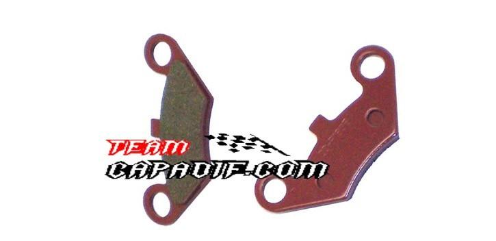 Pastiglie freno posteriore Shineray 250STIXE ST9E