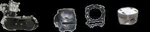 Il motore Kinroad 250cc