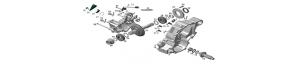 Gearbox Odes 800 cc