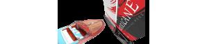 Velero y barco teledirigido