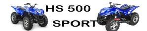 HISUN HS 500 pièces détachées