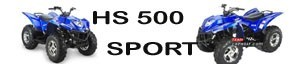 Hisun HS 500 piezas