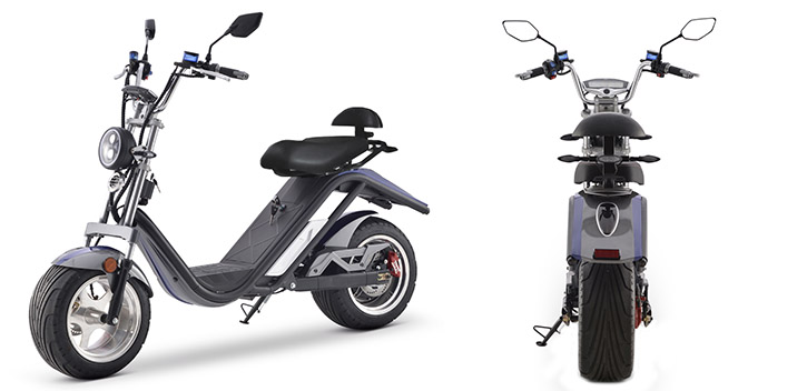 Scooter électrique E-Thor Matriculable 2000W/20AH